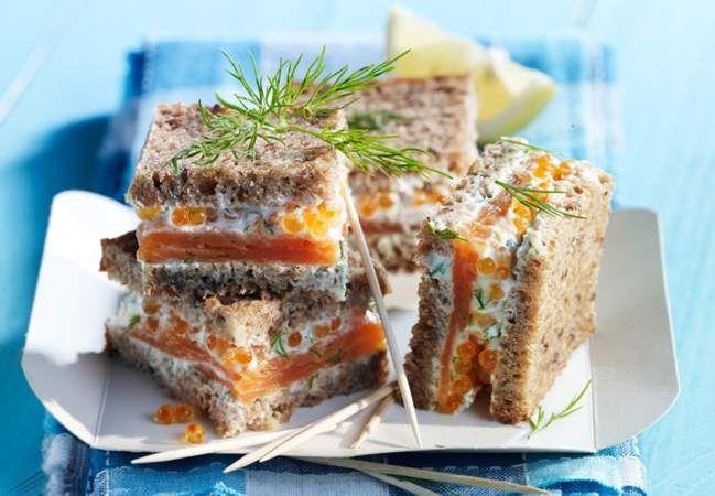 Plus de 70 recettes pour l'apéritif dînatoire du Nouvel an