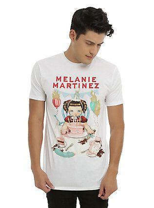 Band Merch Music Clothing Accessories Cds Vinyl Party Shirts Men Melanie Martinez White Shirt Men