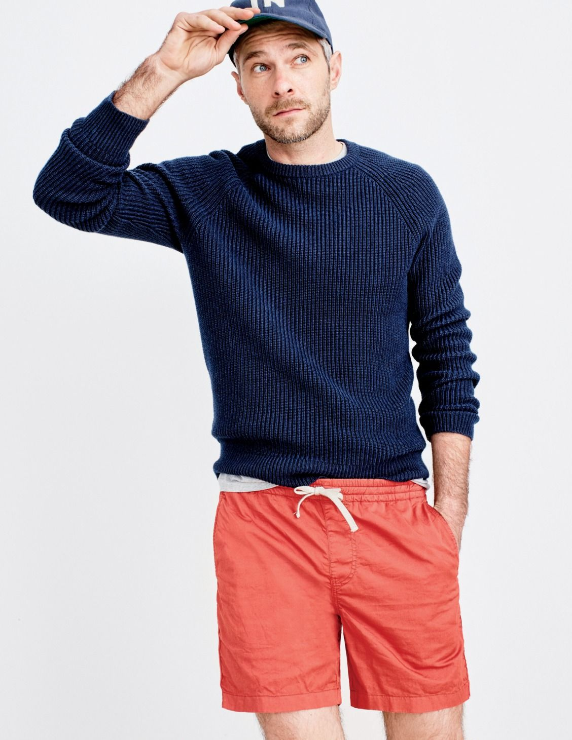 497018589bc2 J.Crew men s raglan-sleeve crewneck sweater