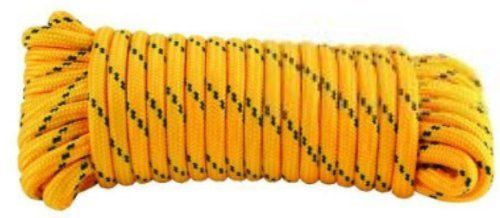 Crown Bolt 63581 1 4 Inch By 100 Feet Diamond Braid Poly Rope Yellow And Black By Crown Bolt 12 14 From The Manufacturer Poly Rope Bolt Rope