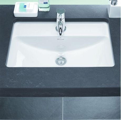 Villeroy & Boch Loop & Friends Rectangle Under Counter Basin