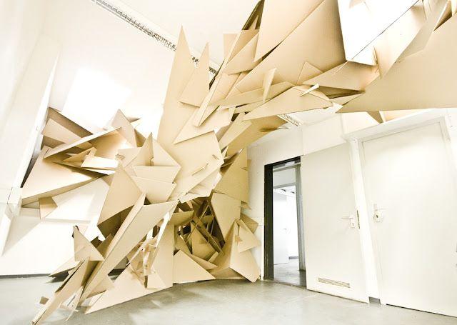 """Cluster"" by Martin Böttger - a burst in my room"