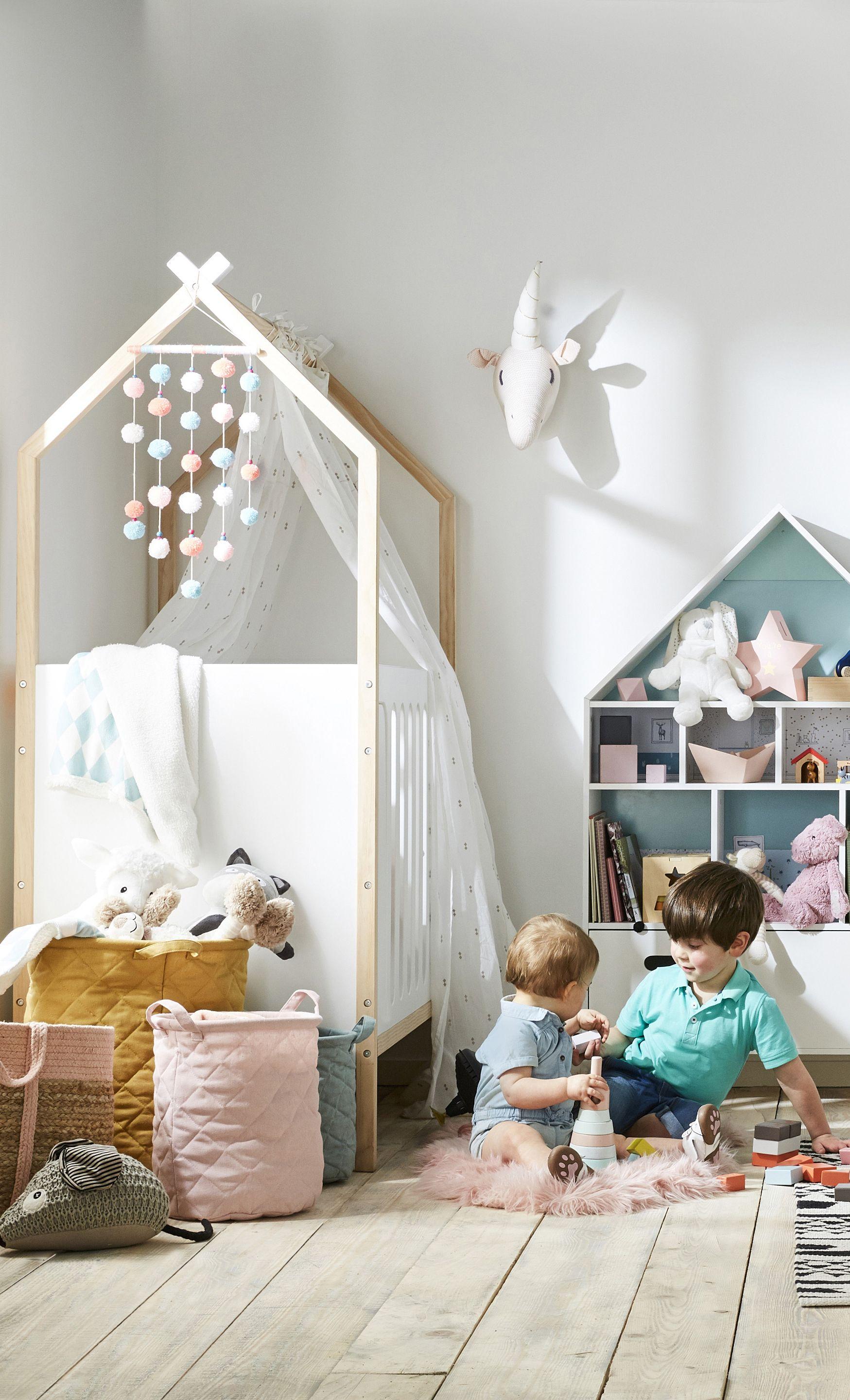 Lit bébé COCONUT transformable en banquette - blanc en 2019 | La ...