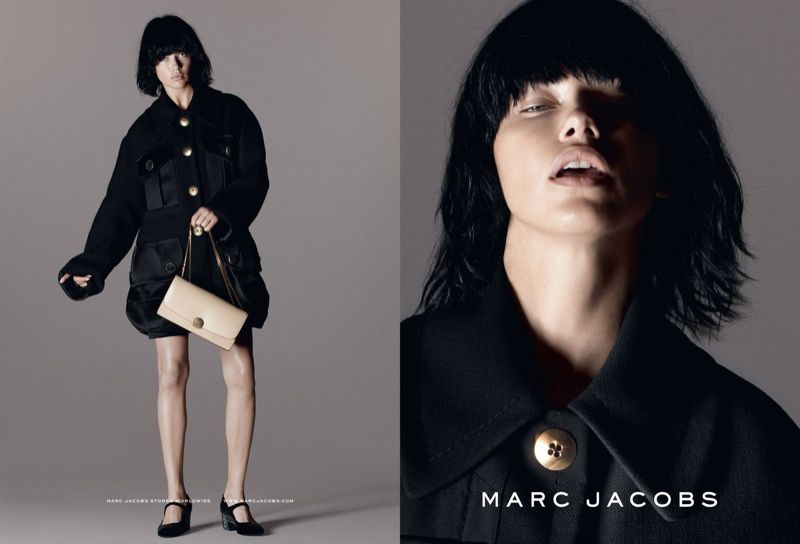 Adriana Lima for Marc Jacobs Spring/Summer 2015 Campaign