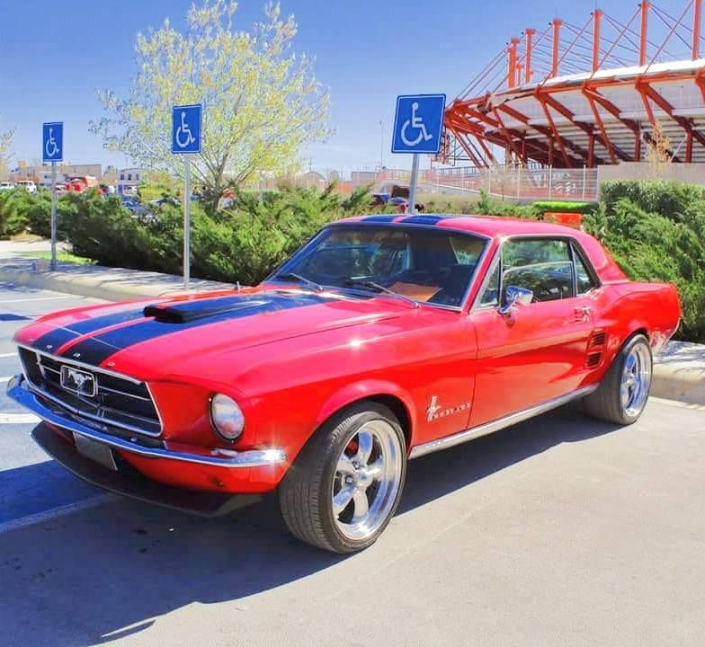 1967 Mustang Coupe American Classic Cars Ford Mustang Parts Ford Classic Cars