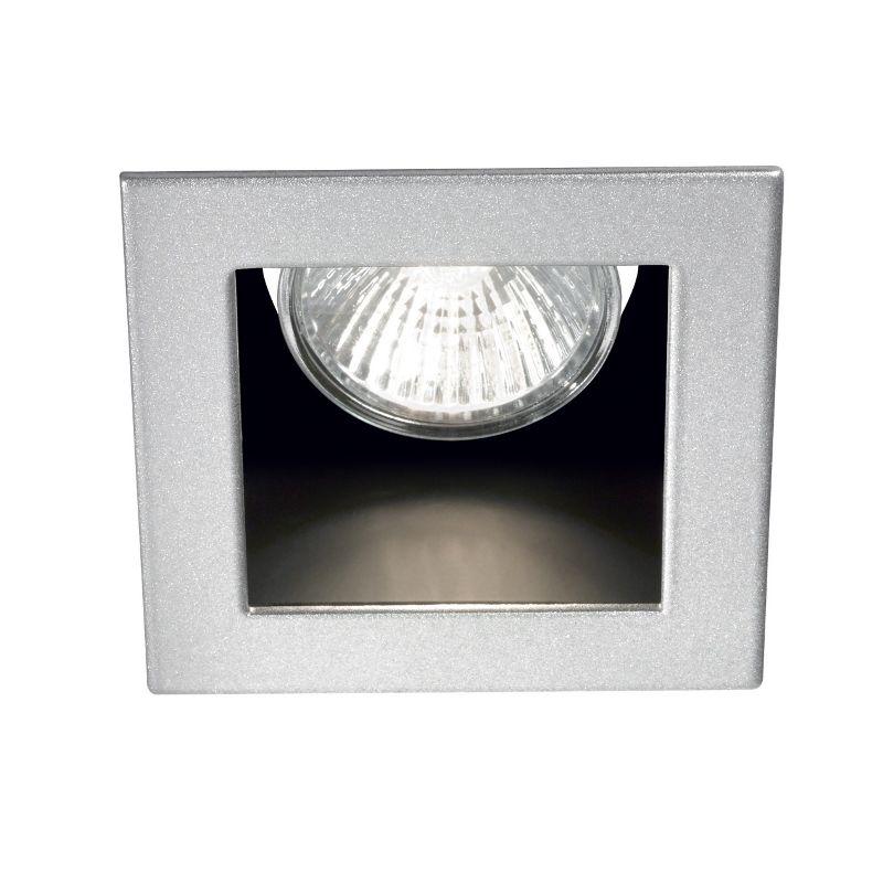 Rückversetzter Decken-Einbaustrahler Funky GU10 PAR16 230V eckig - leuchten fürs wohnzimmer