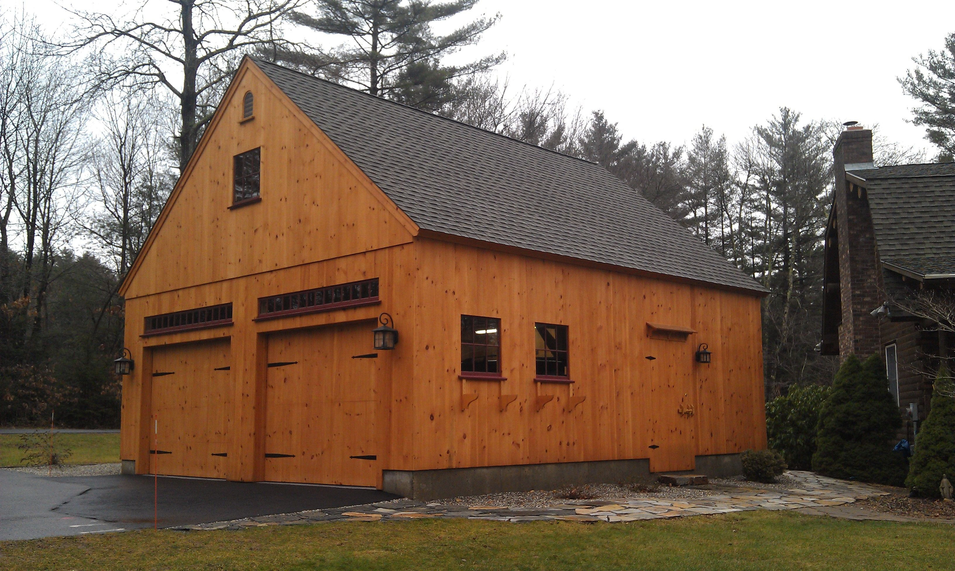 Our 24'x 30' One Story Barn with loft. www ...