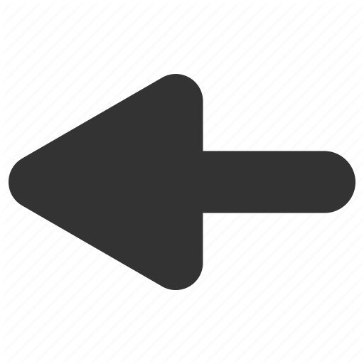 Arrow Back Direction Left Icon Download On Iconfinder Icon Directions Vector Graphics