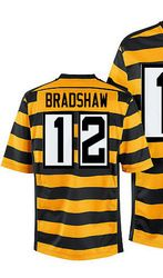 737a659579e 78.00--Mens Nike Pittsburgh Steelers 12 Terry Bradshaw Elite Yellow Black  Black LeVeon Bell Womens Jersey ...