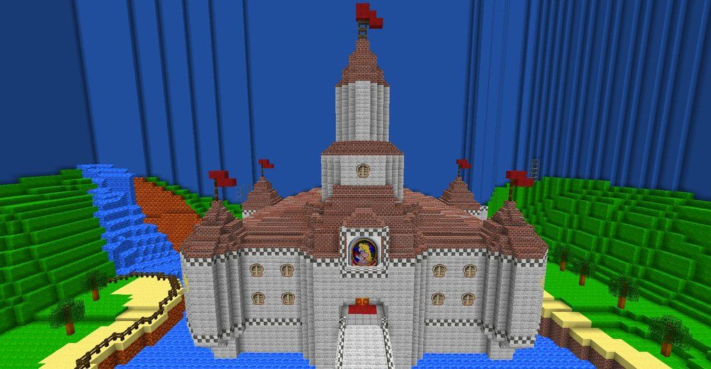 MarioCraft Update 3 | Minecraft | Minecraft castle