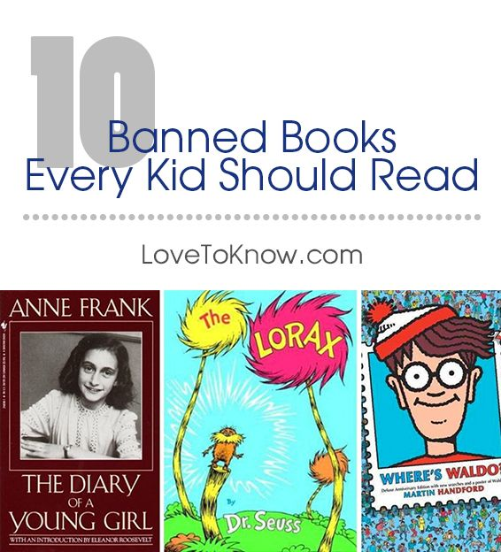 There are always books that make the banned list for schools and other organizations that leave people scratching their heads trying to figure out why. Some of these books may offer a slice of history for young readers, give valuable real life lessons or offer a unique outlook on life that you want your child to either emulate or know how not to act.