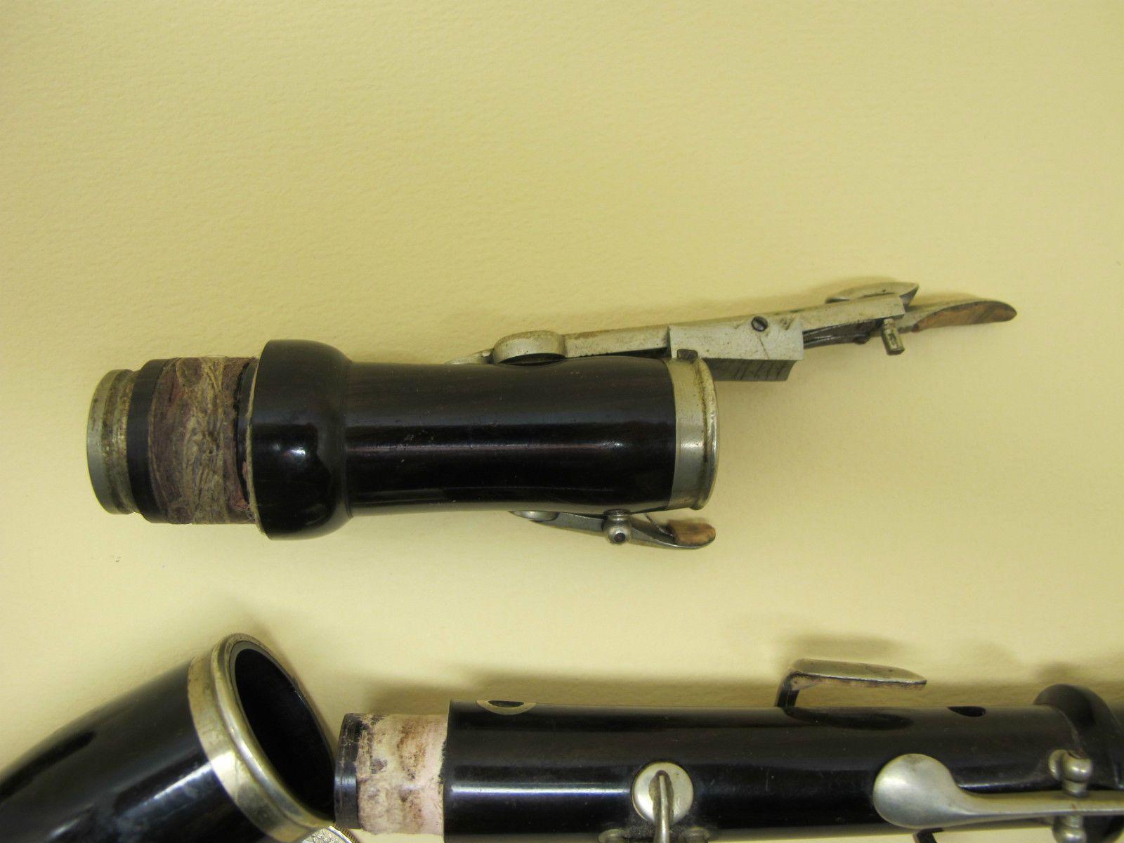 XIXème flageolet, flajol, flauvo piccolo Bois EBENE 38cm RARE+++ ...