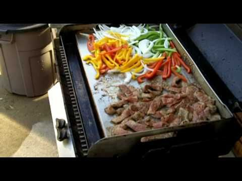 Fajitas on the Griddle-Q.mp10  Griddle recipes, Recipes, Cooking