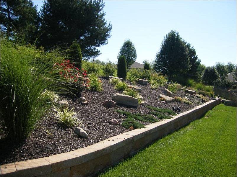 Impressive On Landscape Ideas For Sloped Backyard Landscape Design Ideas For Sloping Backyard Sloped Backyard Hillside Landscaping Backyard Landscaping Designs