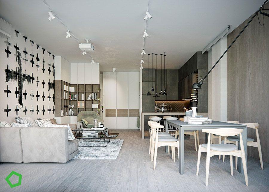 Sala Da Pranzo E Salotto Open Space.30 Idee Per Arredare Salotto E Sala Da Pranzo Insieme Sala