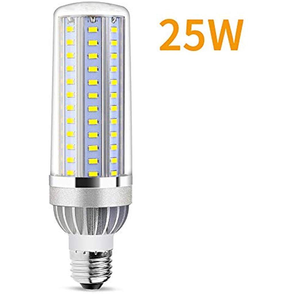 25w Superhelle Mais Licht Led Gluhbirneersetzt 200watt E27 E26 Edison Led Lampe6500k Kaltweiss 2900 Lumen Fur Gewerblichen Bereic Led Lampe Led Gluhbirnen Led