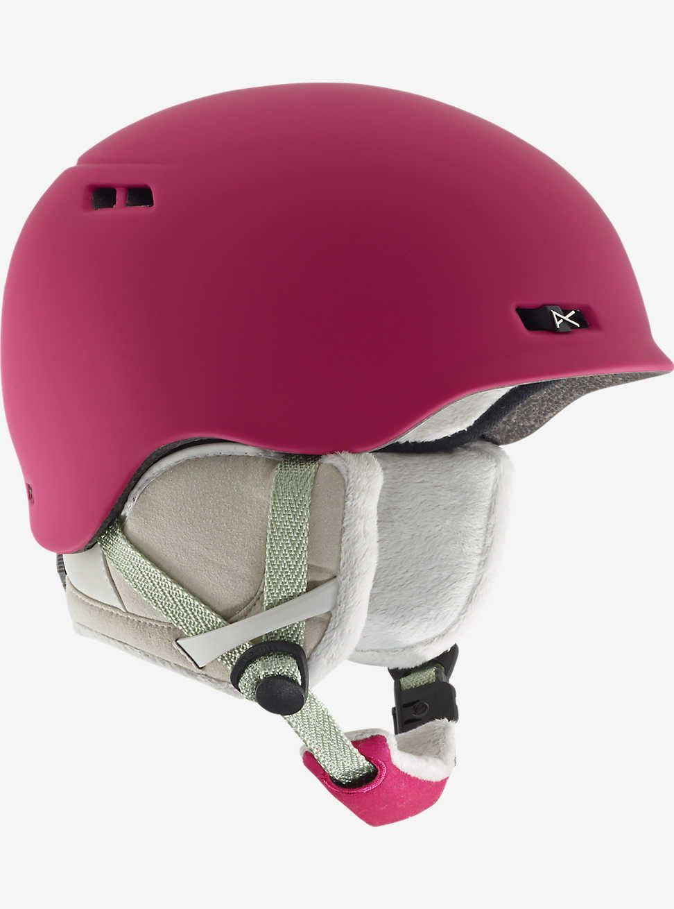 Anon Griffon Helmet Strawberry Red 2017