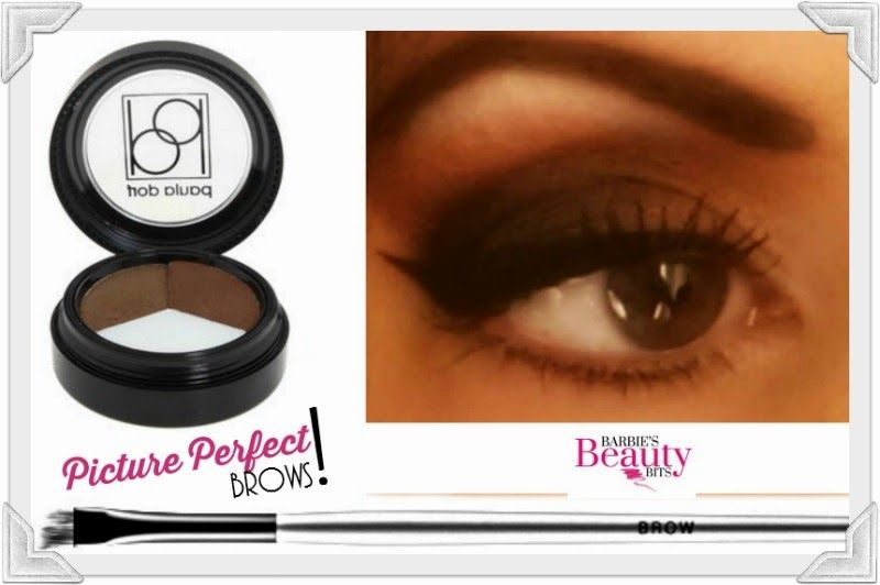 Picture perfect eyebrows by Barbie's Beauty Bits. #eyebrows, #makeup, #beauty