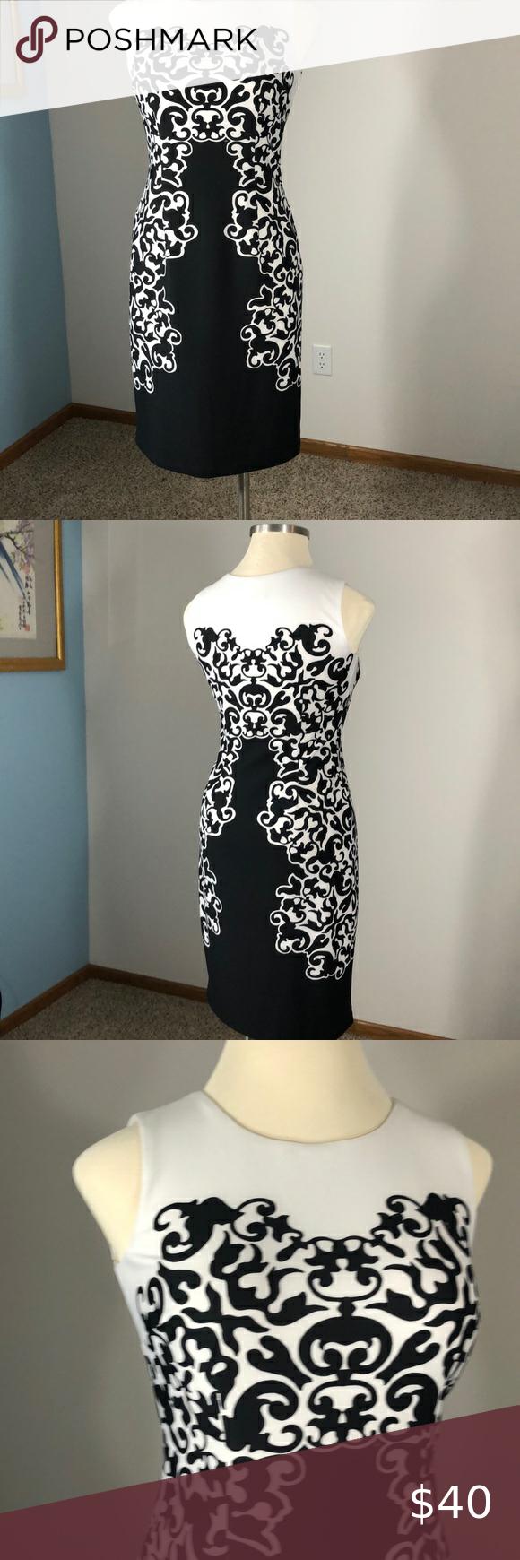Flattering sleeveless dress by Nine West #ninewest #professional #girlboss Nine West Dresses