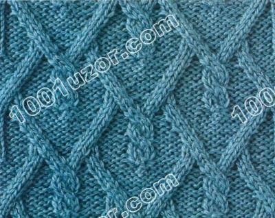 1001 узор для вязания спицами схемы