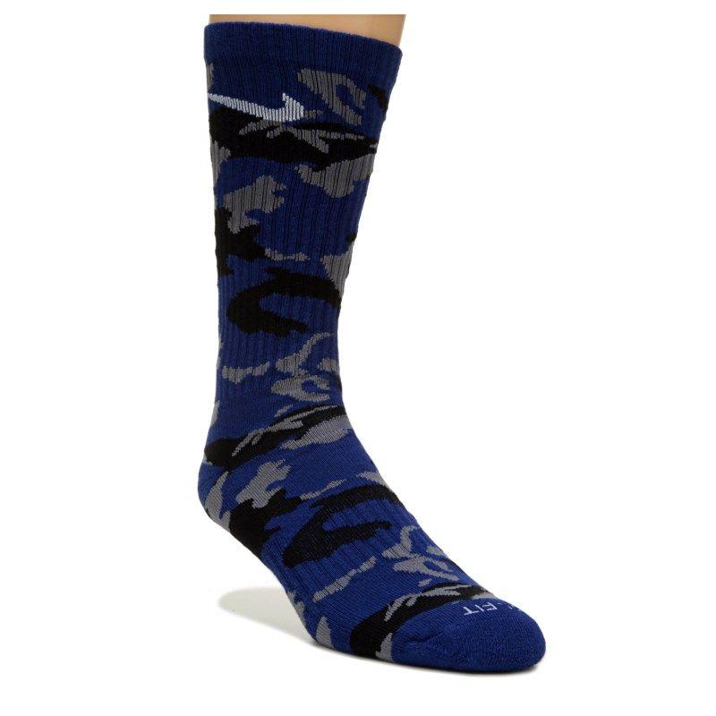 a8004780c72a5 Nike 6 Pack Men s Large Camo Crew Socks (Black Camo)