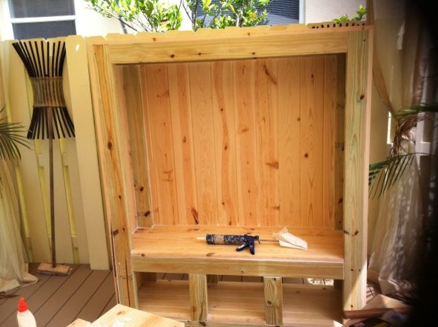 Custom Outdoor Entertainment Center Building Stages