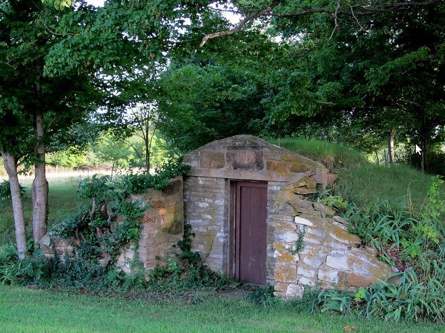 Old Root Cellar Or Storm Shelter Echoes Of Time In 2019