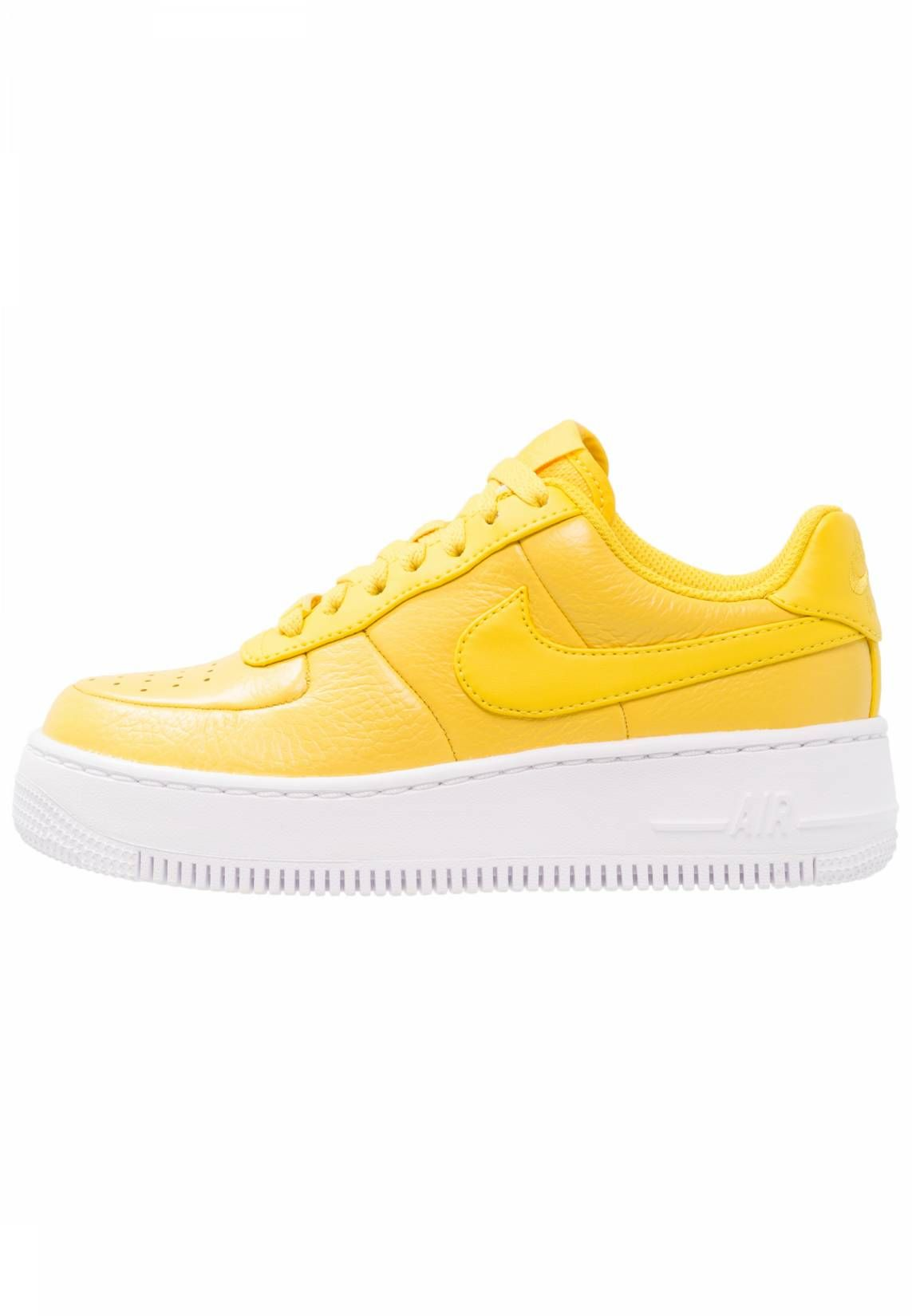 7b7f659e43 Nike Sportswear. AIR FORCE 1 UPSTEP PRM LX - Sneaker low - vivid sulfur/