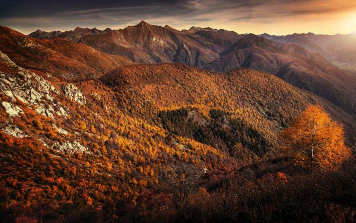foto de Télécharger fonds d'écran automne paysage de montagne