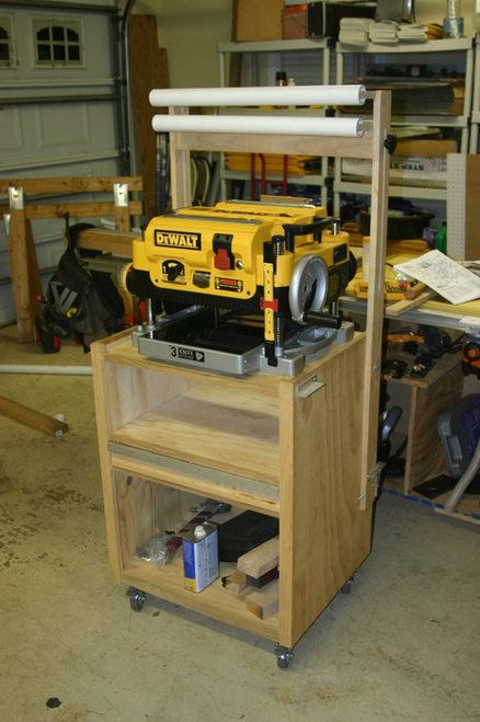 Rolling Planer Stand Woodworking In 2019 Wood Planer