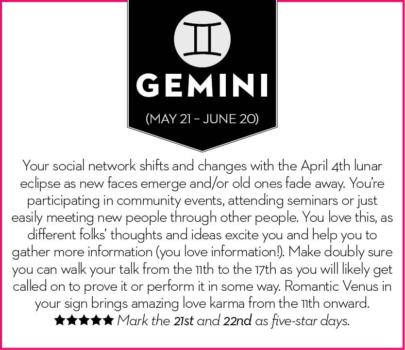 Get your April 2015 horoscope – Chatelaine