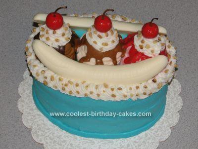 Coolest Banana Split Cake Bananas Holy cannoli and Cake mixes