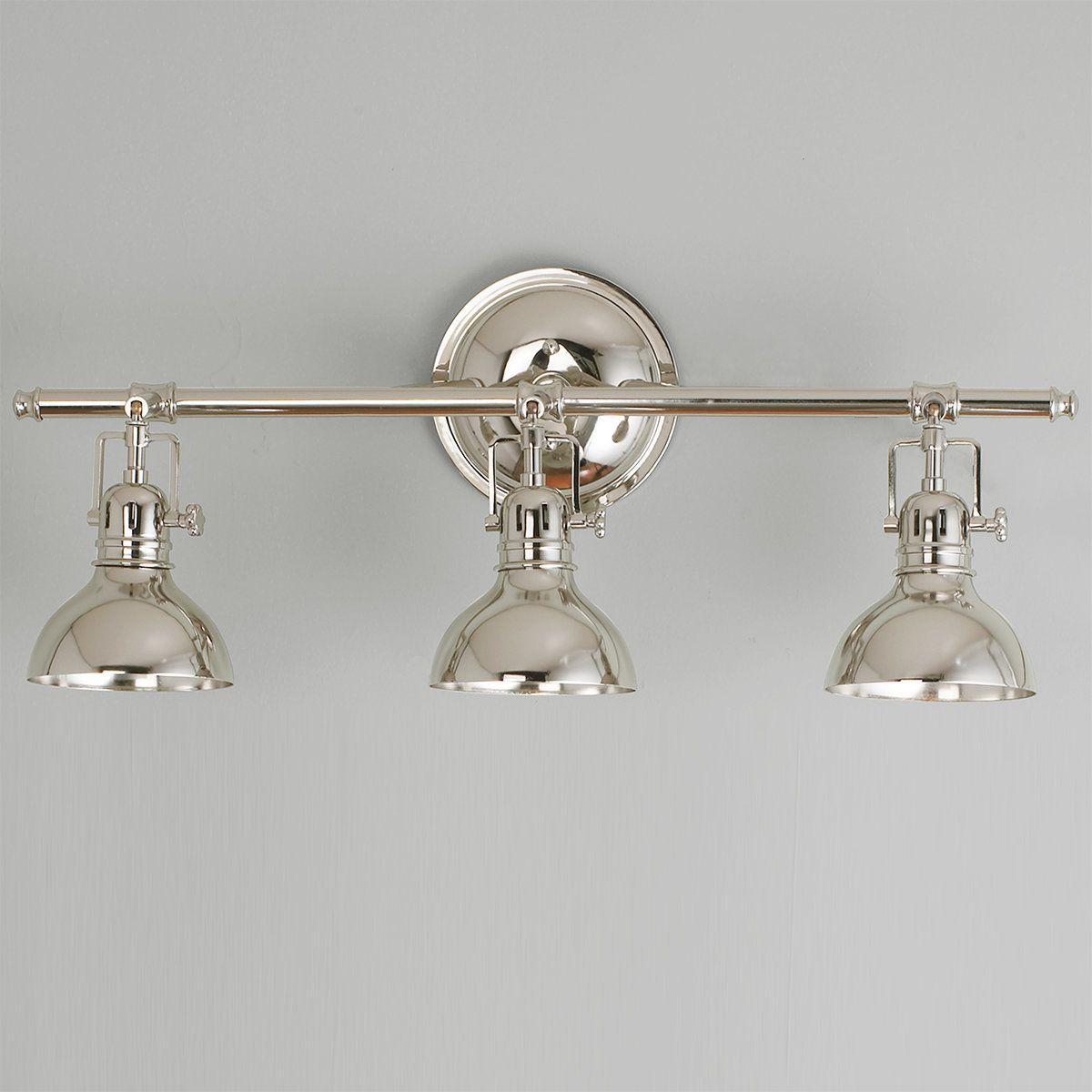 Pullman Bath Light 3 Light Bath Light Bathroom Light Fixtures Bathroom Sconces