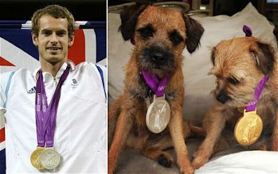 Andy Murray The best dog in the world? It has to be the Border terrier