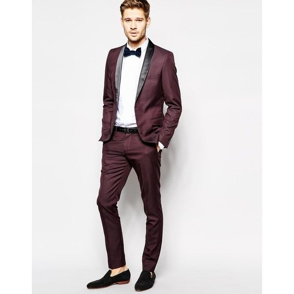 Selected Tuxedo Jacket With Shawl Lapel In Skinny Fit (£66 ...