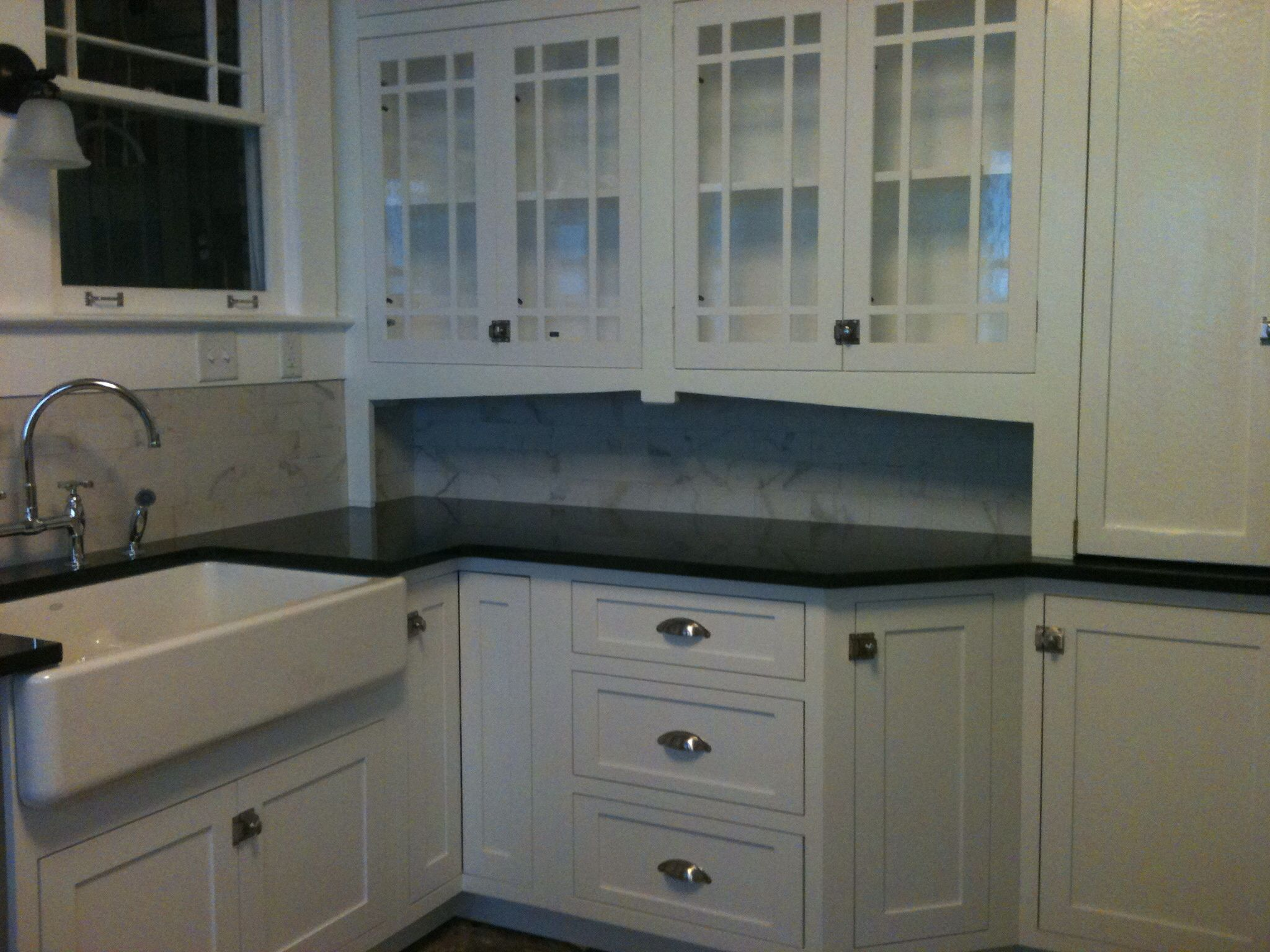My 1920\'s kitchen rehab is coming together beautifully. Restored ...