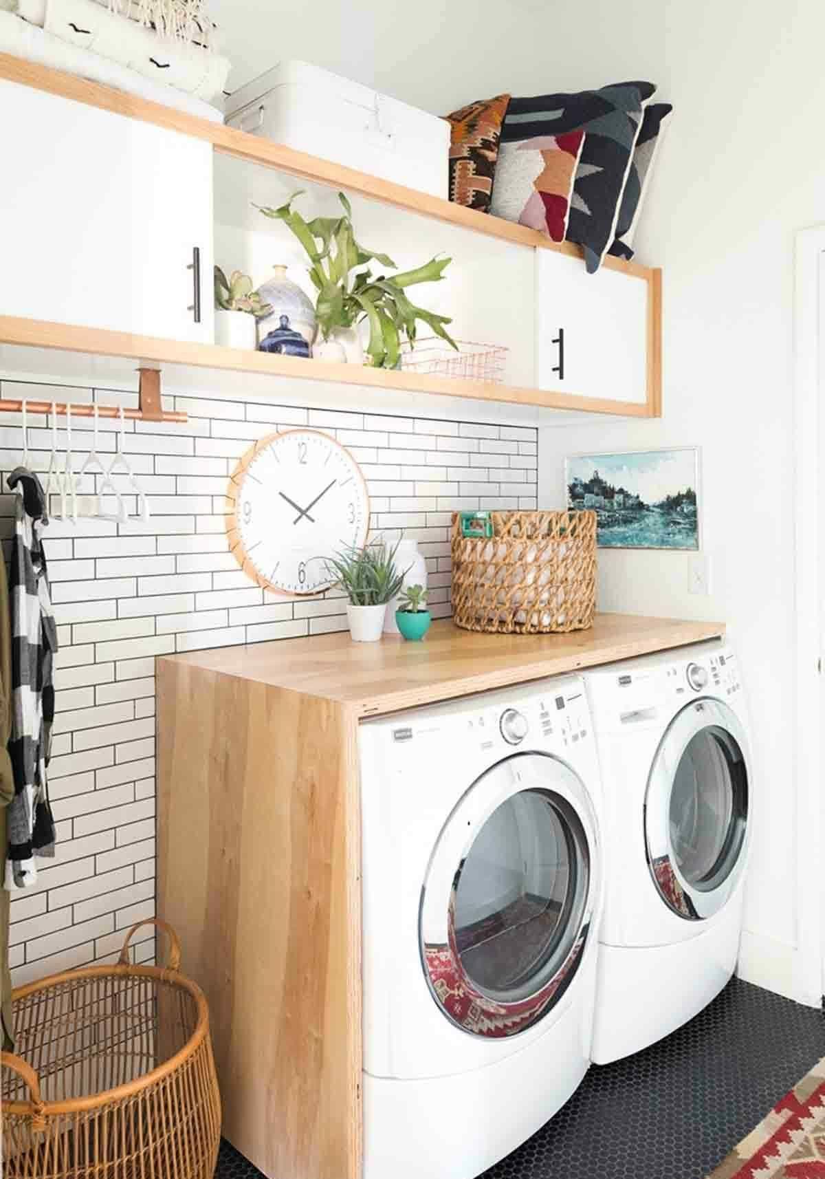 Einen Hauswirtschaftsraum einrichten können Sie mit diesen Tipps & Ideen