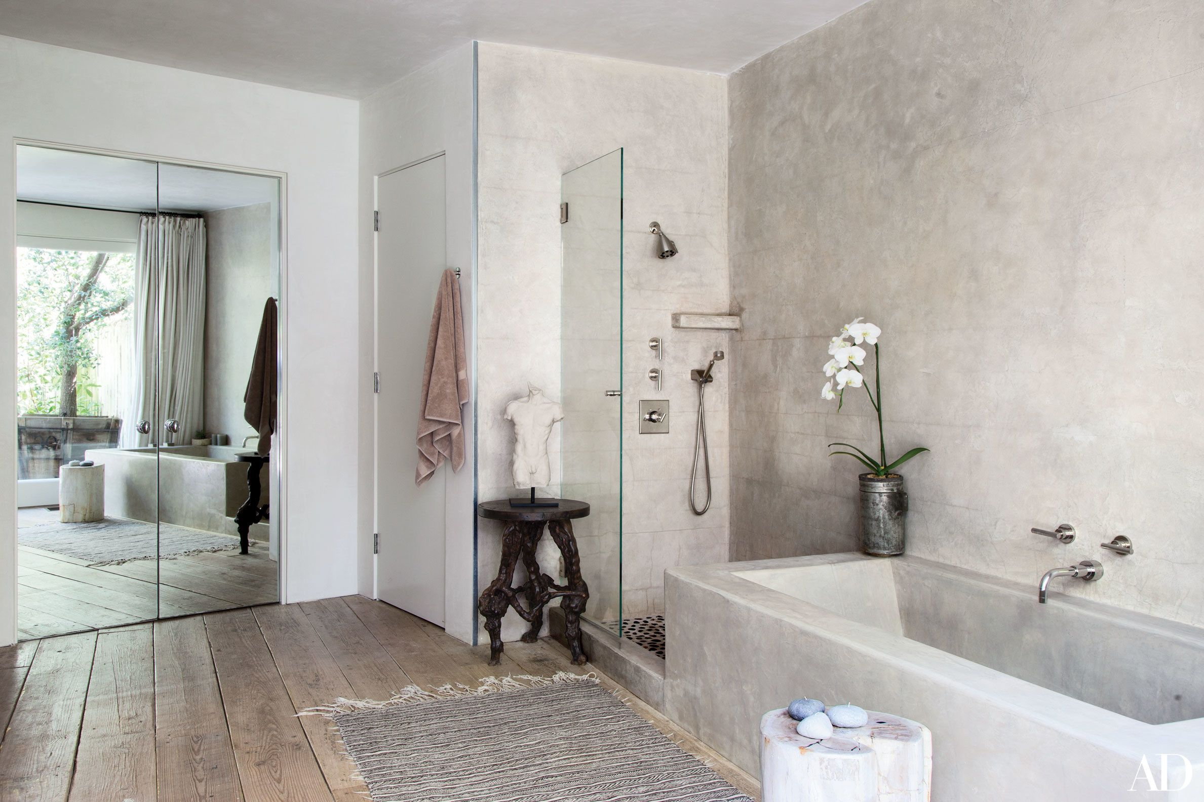 22 Luxury Bathrooms In Celebrity Homes  Architectural Digest Extraordinary Pictures Of Luxury Bathrooms Decorating Inspiration