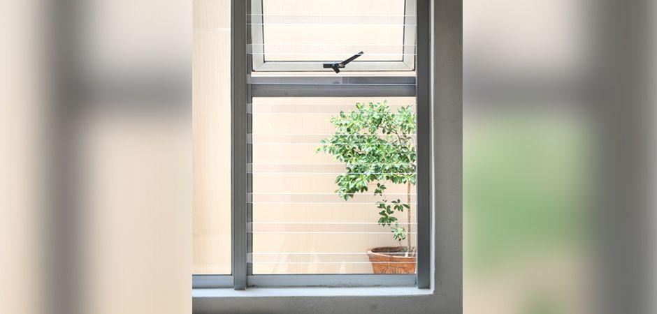 Transparent Window Security Burglar Bars Window Security Polycarbonate Panels