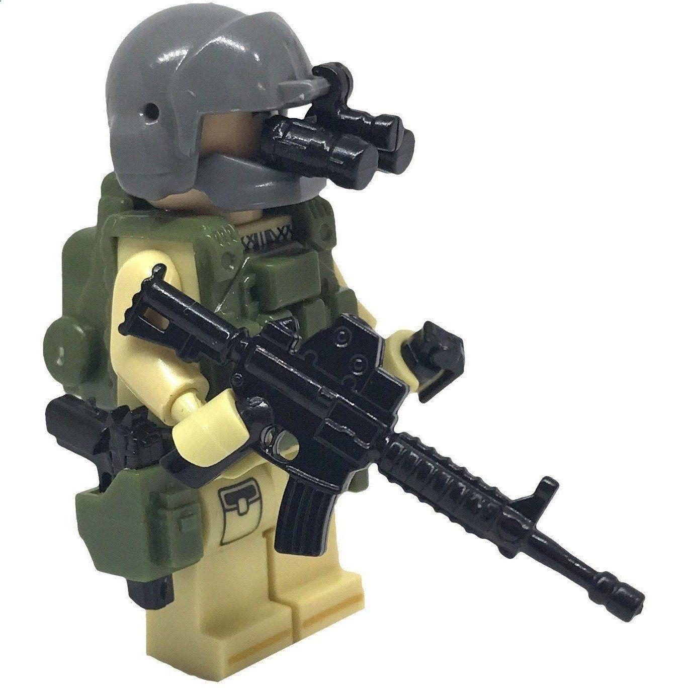 Brick Minifigure United States Air Force (USAF) Pararescue