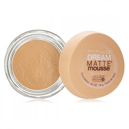 Maybelline Dream Matte Mousse Foundation Maybelline Dream Matte Mousse Maybelline Loose Powder Foundation