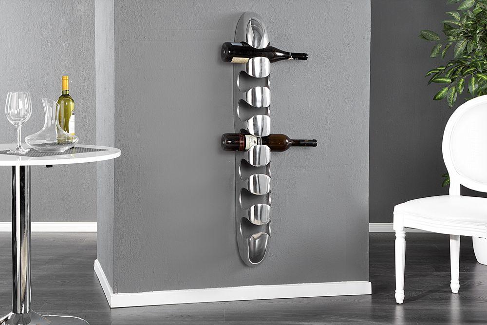 Moderne Weinregale das hochwertige aluminium weinregal tower bietet ihnen platz für 7