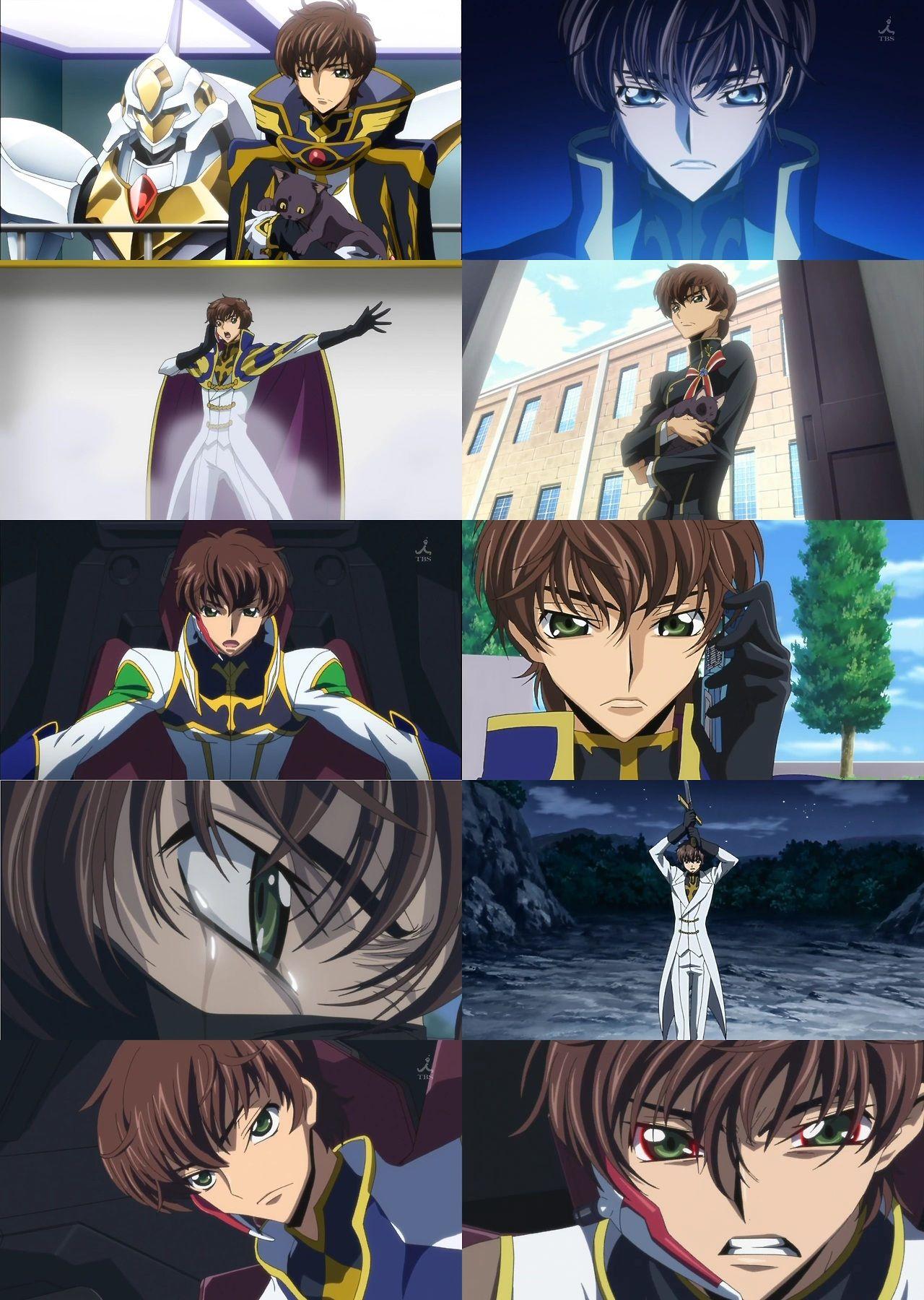 "allthingscodegeass ""season one + season two —> Suzaku"