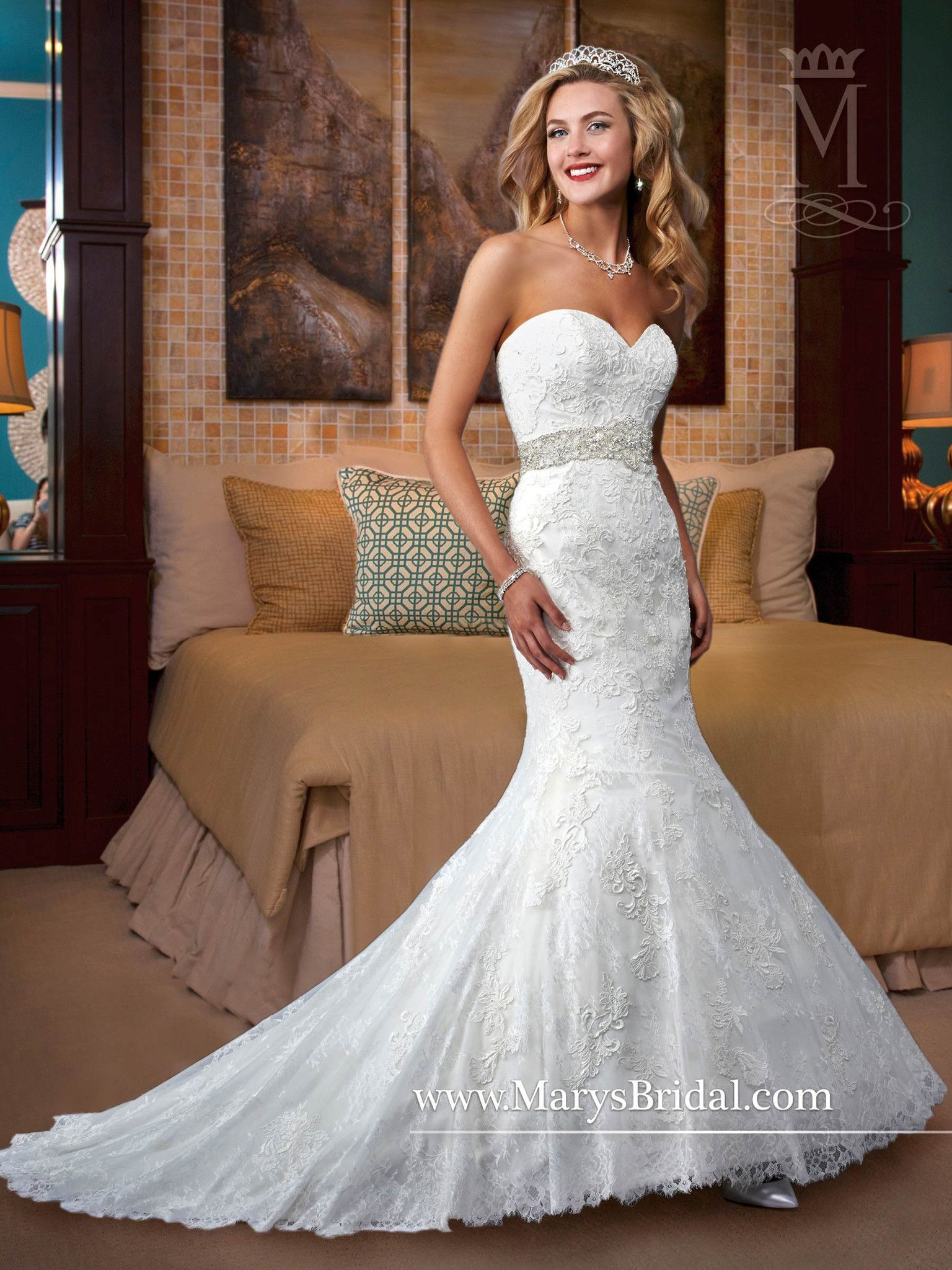 Venice lace over allover french lace gown wedding dress
