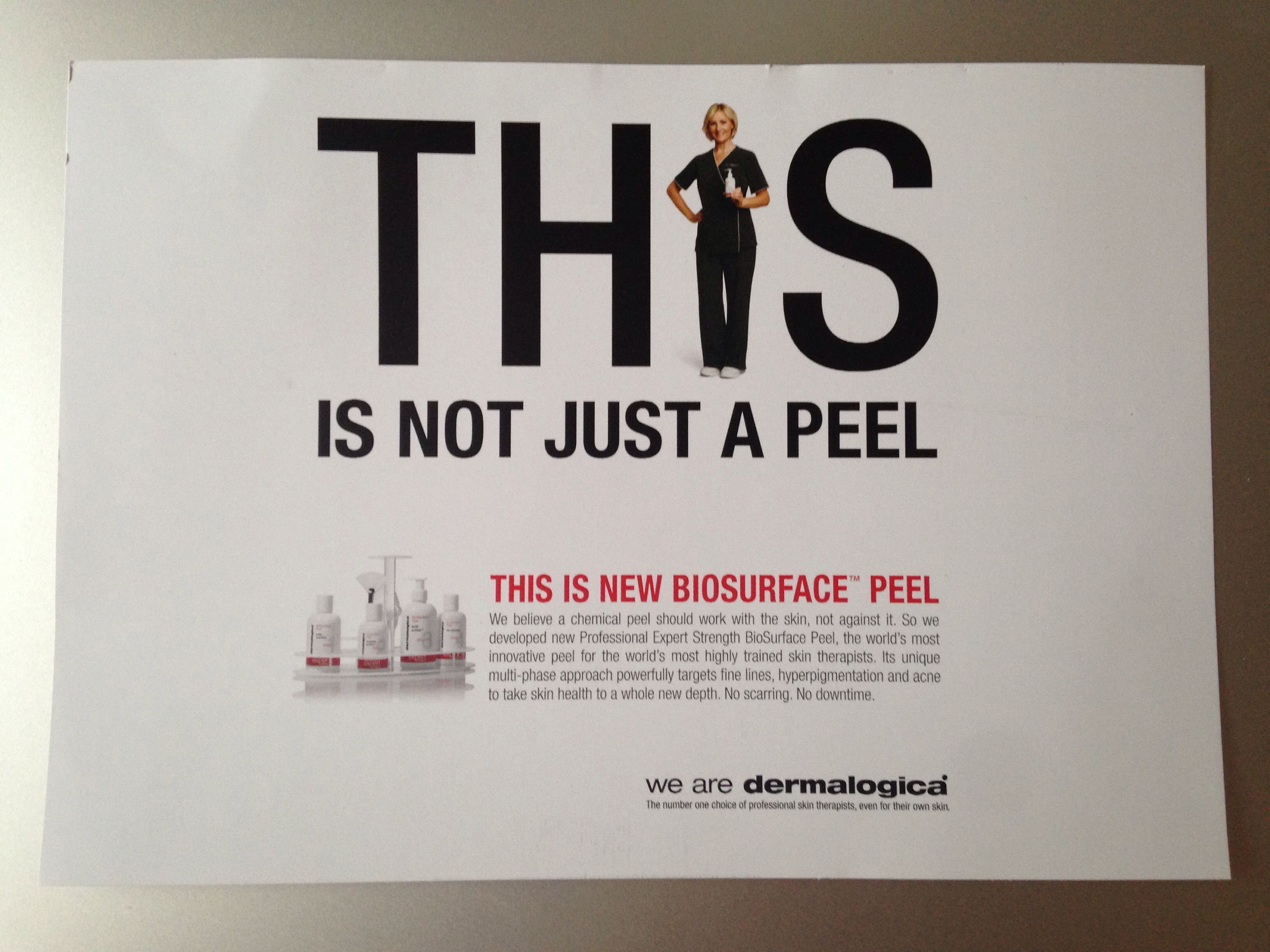 Skincare Saturday- coming in September @DermalogicaUK1 BioSurface Peel for glowing skin!