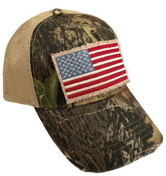 Perfect Summer 4th Of July Hat Flag Trucker Hat Camo Trucker Hat Patriotic Hats Trucker Hat