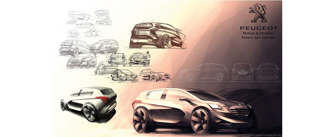 Car design projects   Strate, School of Design