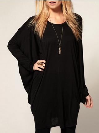 dresslily | long sleeve loose shirt