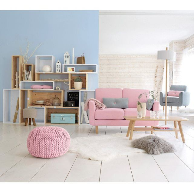 awesome interior design inspired by pantone colour of the year rose quartz serenity with canape. Black Bedroom Furniture Sets. Home Design Ideas