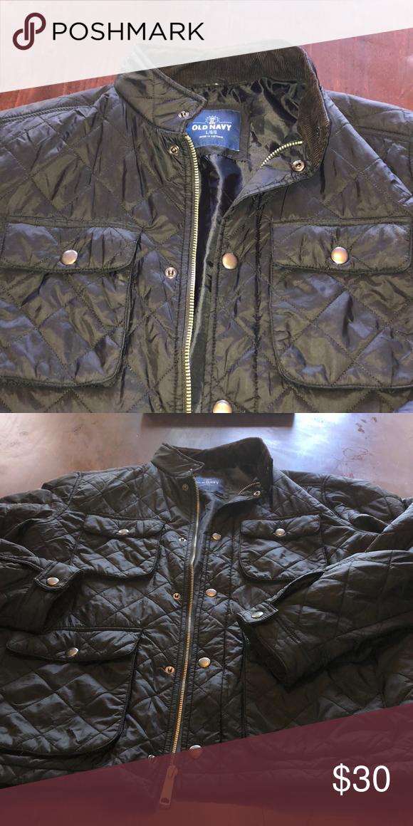 c147f010caceb Old navy military jacket Black jacket nearly new Old Navy Jackets & Coats  Military & Field